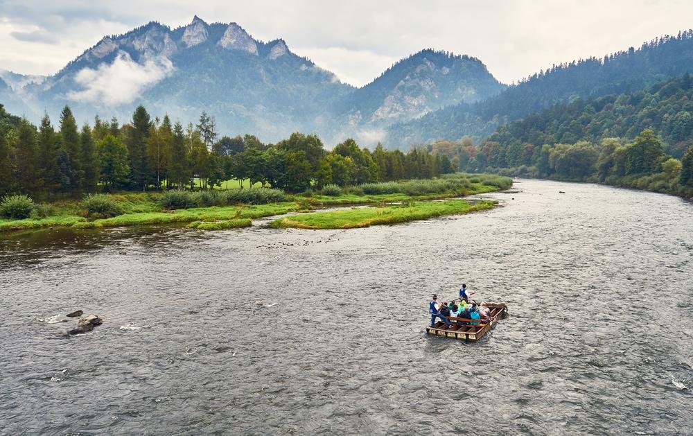 רפטינג בנהר dunajec