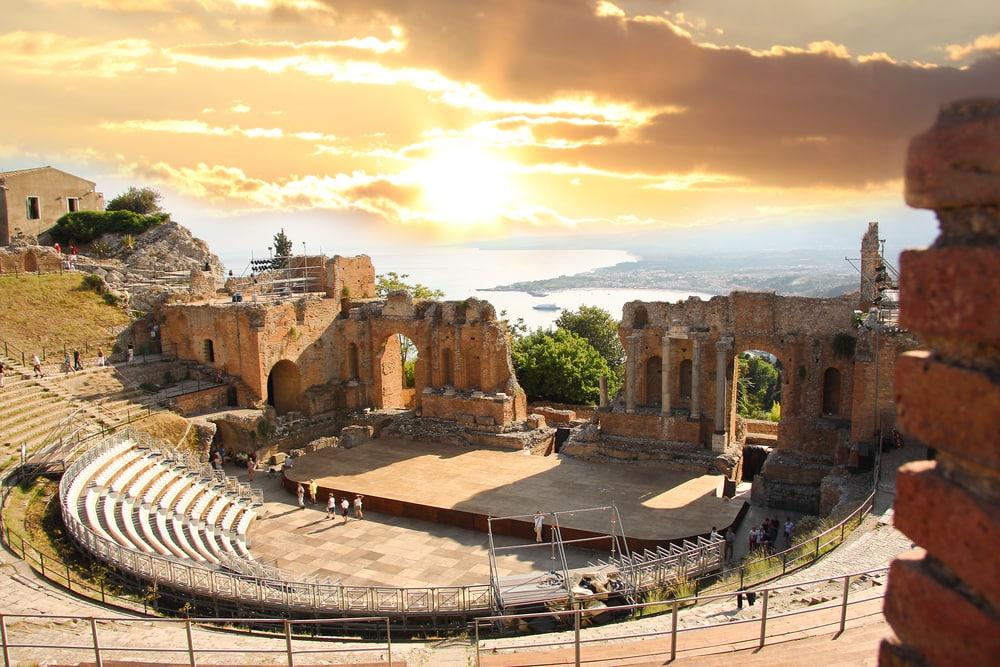 תאטרון טאורמינה סיציליה